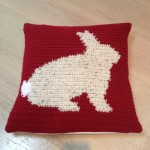 Front of cushion cover
