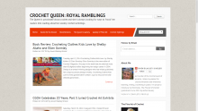 Crochet Queen Royal Ramblings