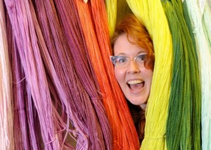 Jessica James, owner of Ginger Twist Studio yarn shop, is organising this summers event. Picture: Jane Barlow